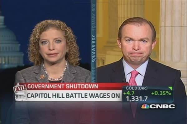 'We are not negotiating Obamacare': Rep. Wasserman