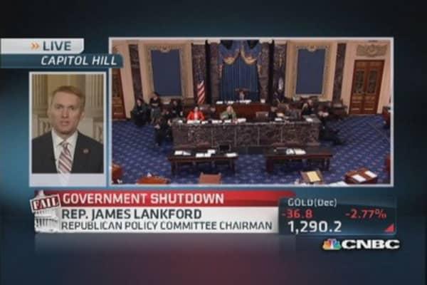 Not a shutdown, it's a slowdown: Rep. Lankford