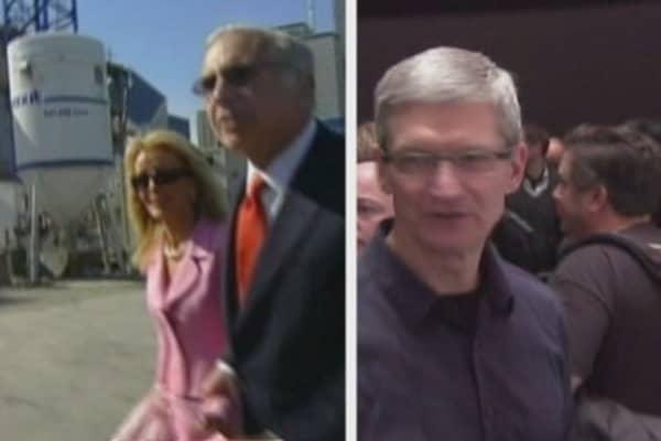 Showdown over Apple's pile o' cash