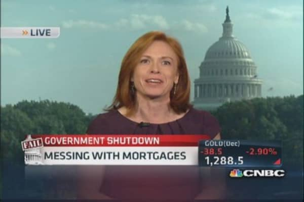 Government messing with mortgages