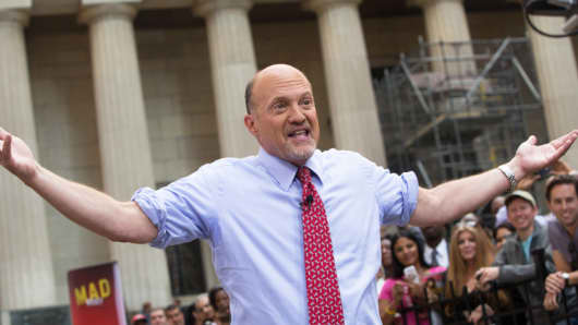 Jim Cramer at MM2K show on Wall Street
