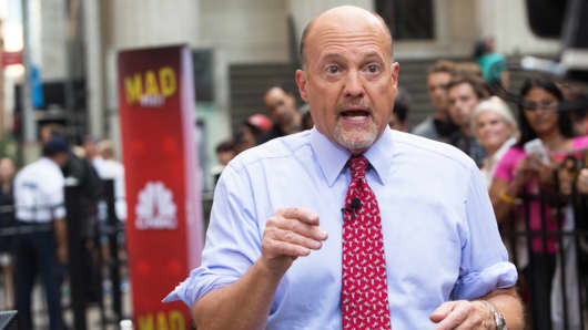 Jim Cramer at the Mad Money MM2K show.