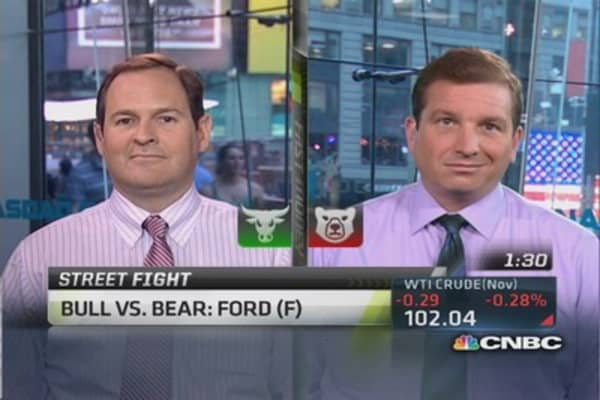 Bull vs. bear on Ford