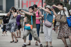 101079913-tourists - Chinese tourists warned not to pick noses or urinate in public - Asia | Middle East