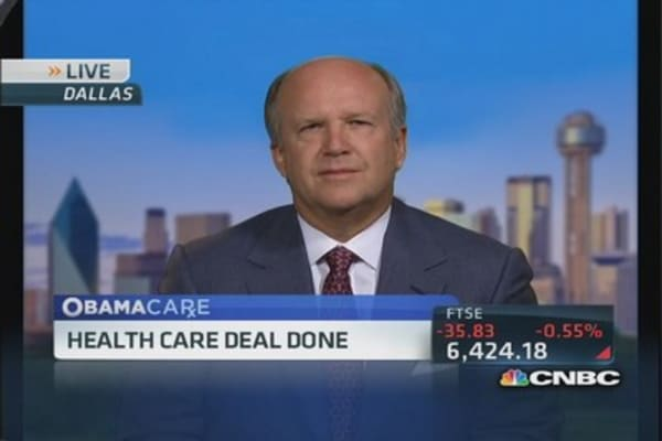 Tenet Healthcare CEO on the upside of Obamacare