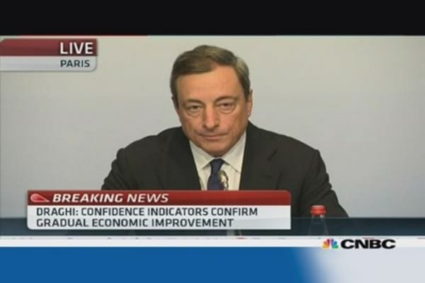 ECB ready to use 'all available instruments': Draghi