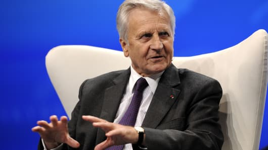 Jean-Claude Trichet, former president of the European Central Bank