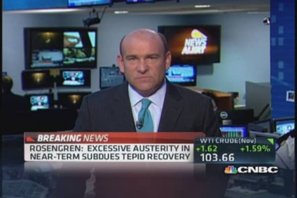 Fed's Rosengren: Supported decision not to taper