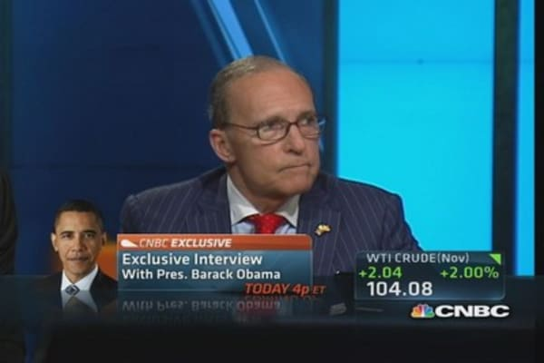 President must get involved: Kudlow on shutdown
