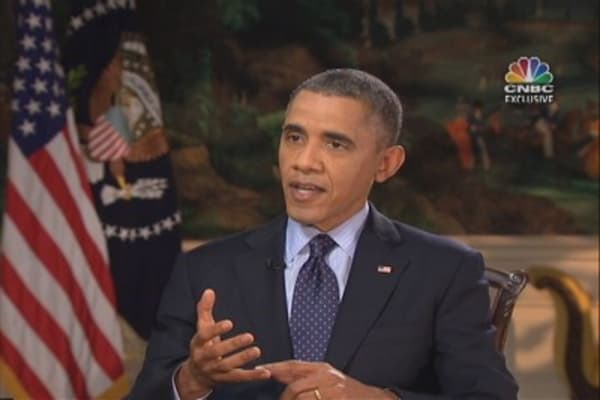 President Obama, the complete CNBC interview