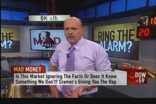 Washington has become a joke: Cramer