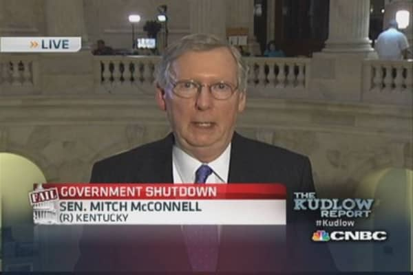 Sen. McConnell: Fighting for important principles
