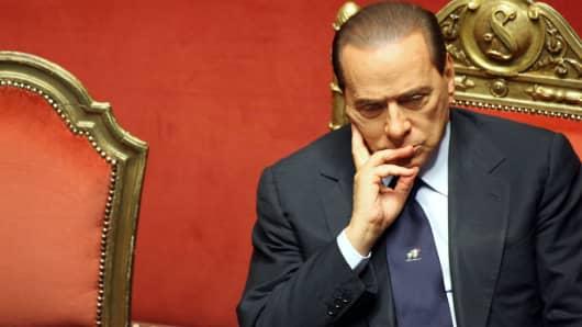 Silvio Berlusconi;Renato Brunetta