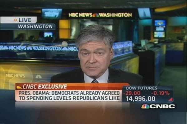 Obama: Shutdown's 'profound impact' on Wall Street
