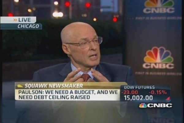 Hank Paulson on JPMorgan's legal troubles