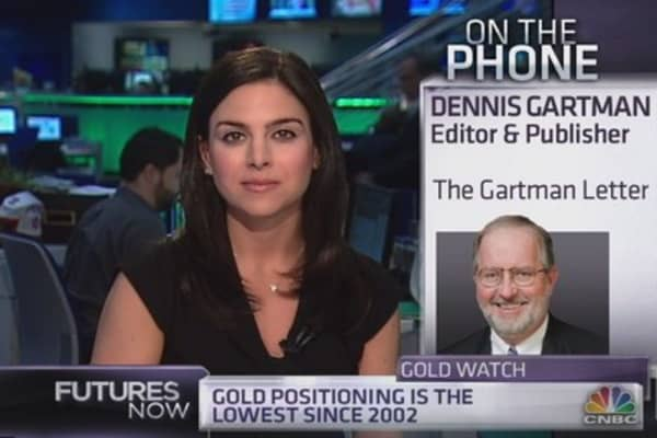 Gartman: Here's what it will take for gold to rally