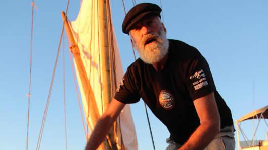 Captain Steve Schwartz aboard Ceres
