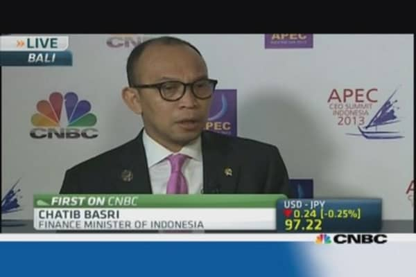 Indonesia Fin Min: No intentions of introducing capital controls