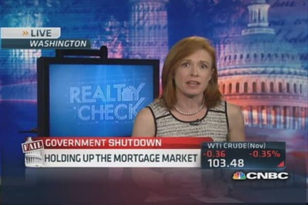 Jumbo lenders slowed by shutdown