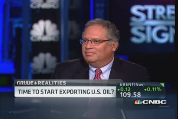 Time to start exporting US oil?
