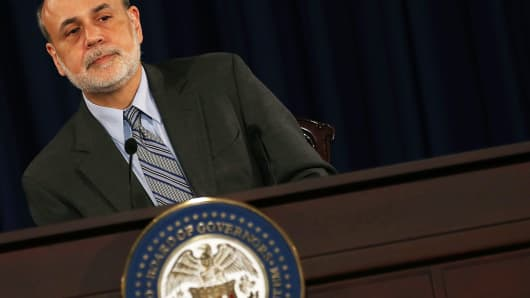 Former Federal Reserve Chairman Ben Bernanke