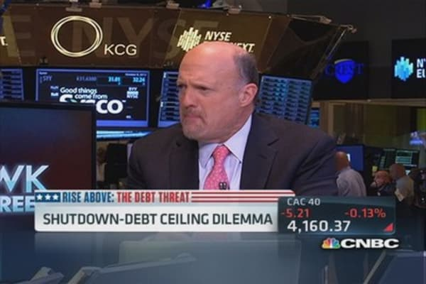 Cramer: Some see shutdown as 'play act'