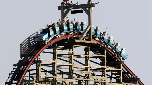 Six Flags has reopened the Texas Giant roller coaster for the first time since a rider fell 75 feet to her death.