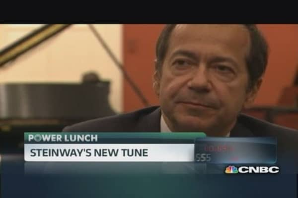 John Paulson on why he bought Steinway