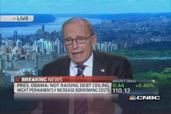 Obama: We're exploring debt limit options
