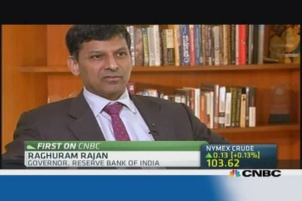 India's Rajan: Rupee and markets are stabilizing