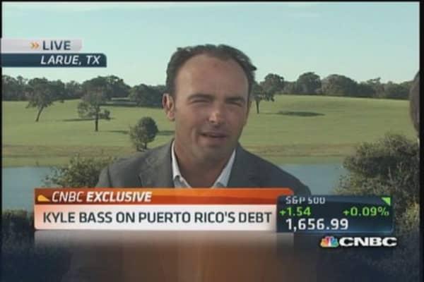 Bass: Puerto Rican debt complete junk