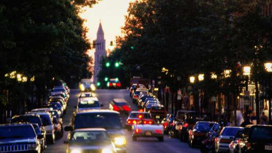 Alexandria, Va., street scene.