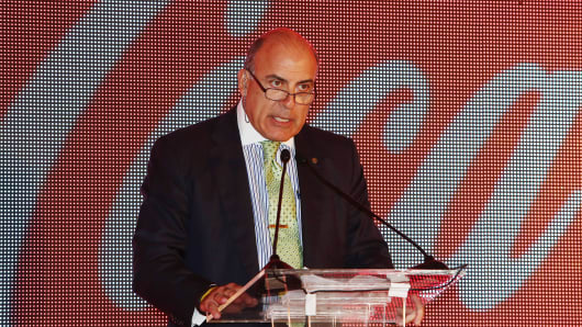 Muhtar Kent, chief executive officer of Coca-Cola Co.