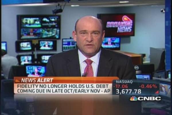Fidelity dumps U.S. debt