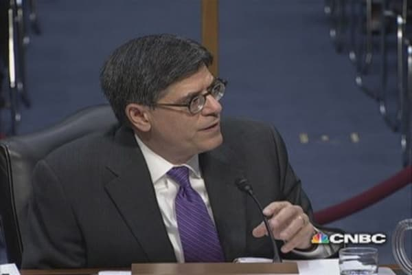 Lew: Like paying entire mortgage instead of a payment