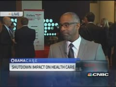 Shutdown may have negative impact on health care: Former Onyx CEO