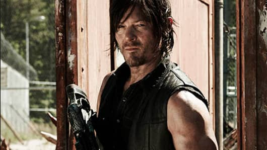 "Norman Reedus as Daryl Dixon in ""The Walking Dead."""