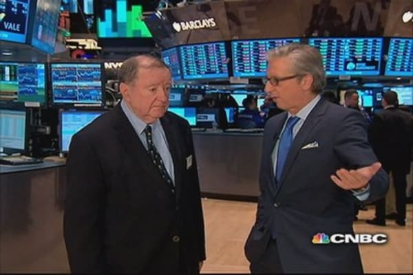 Art Cashin: No pullback after spike