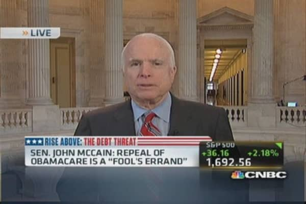 McCain: More pressure on Republicans