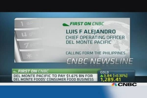 Del Monte: Deal is a great strategic move for us