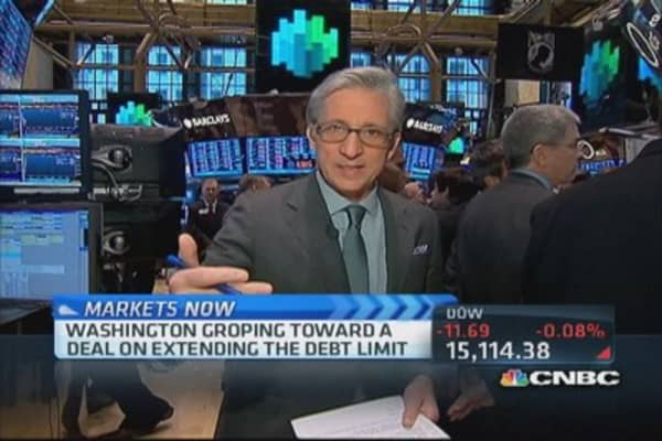 Biggest risk for markets is debt ceiling:Pisani