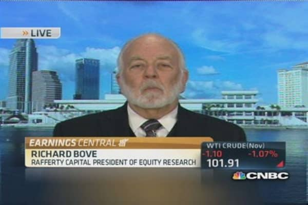 Bove: 'Good news, bad news' story for banks