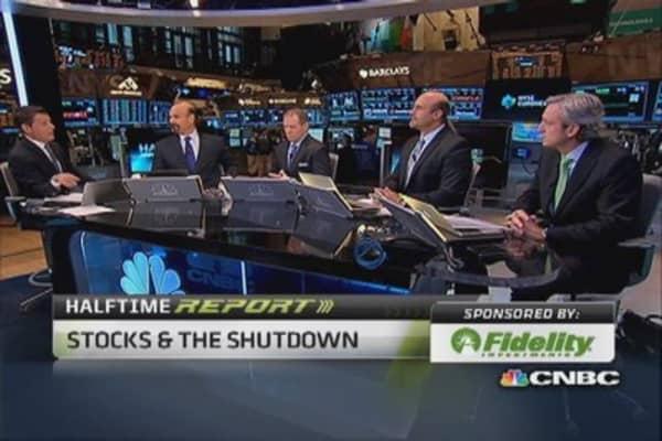 Making a shutdown bet on gaming stocks