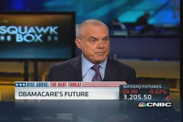 Aetna CEO: Convinced Obamacare was going to be difficult launch