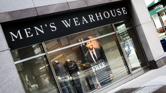 A Men's Wearhouse in New York