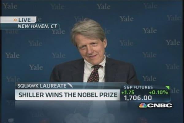 Shiller wins Nobel Prize