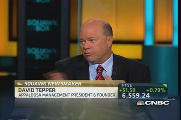 This is not the time to miss a debt payment: Tepper