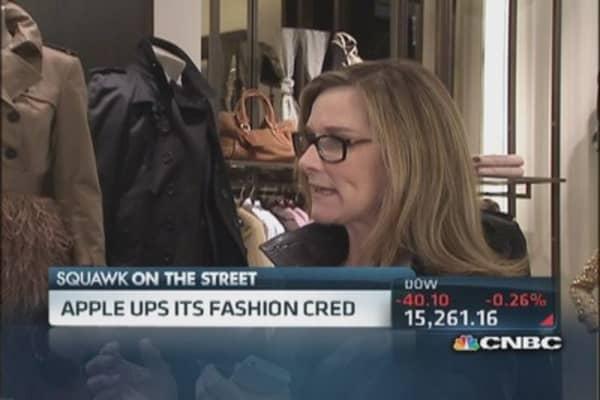 Apple raids Burberry and ups its fashion cred
