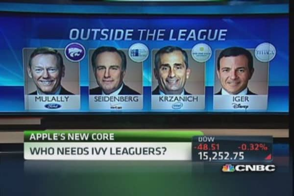 'Ivy leaguers' still the most desired?