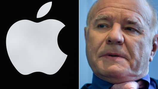 Marc Faber thinks Apple could go bust.